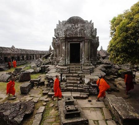 Camboya tiene la soberanía completa sobre el templo Preah Vihear  - ảnh 1