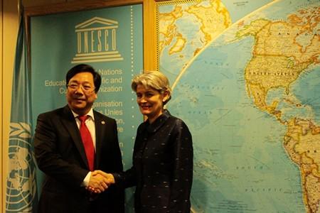 UNESCO reconoce los aportes de Vietnam a la organización durante su mandato - ảnh 1
