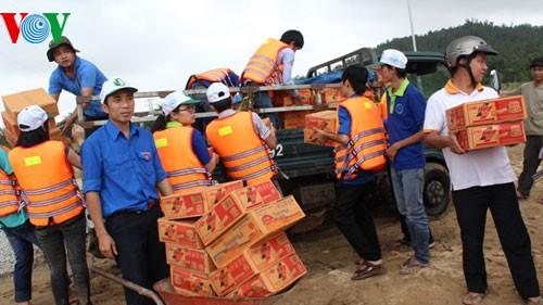 Localidades vietnamitas superan consecuencias de precipitaciones e inundaciones - ảnh 2