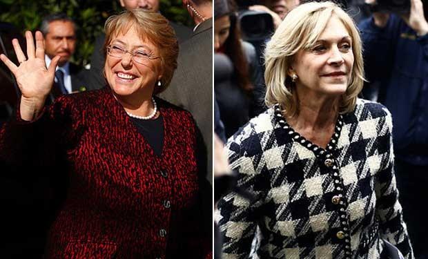 Bachelet y Matthei irán a segunda vuelta por la presidencia de Chile - ảnh 1