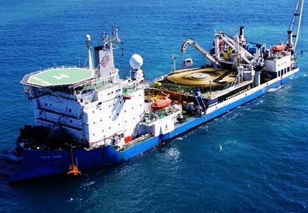 Comienza en Vietnam construcción de cable submarino de mayor calibre del Sudeste Asiático - ảnh 1