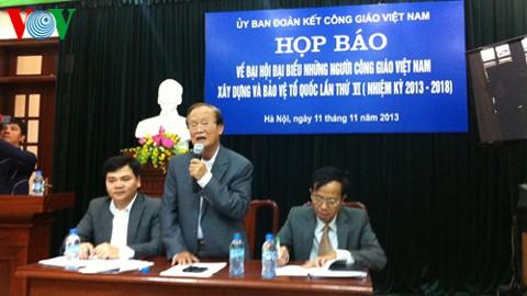 Se celebrará en Hanoi Congreso de los Católicos vietnamitas - ảnh 1