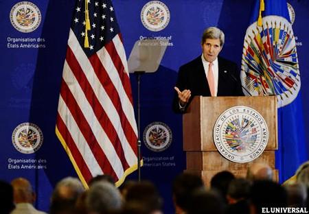 John Kerry: Estados Unidos dejó atrás la Doctrina Monroe - ảnh 1
