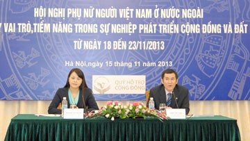 Mujeres vietnamitas en el extranjero conectan para contribuir al desarrollo nacional - ảnh 1