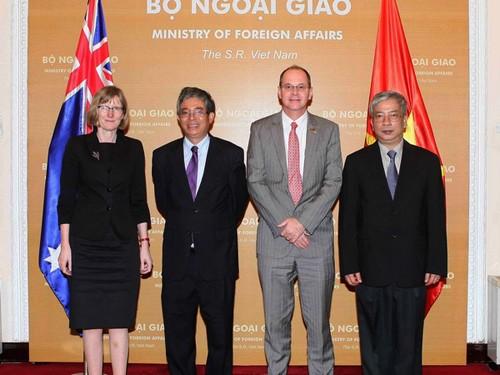 II Diálogo interministerial Vietnam - Australia - ảnh 1