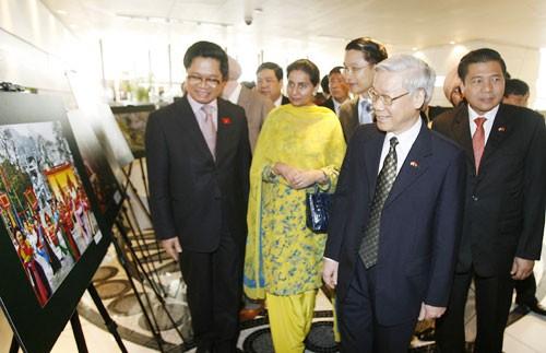 Los nexos Vietnam-India hacia la paz y prosperidad común - ảnh 1