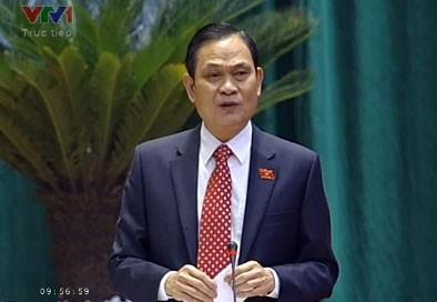 Ministros del Interior y de Información y Comunicación rinden cuenta en el Parlamento - ảnh 1