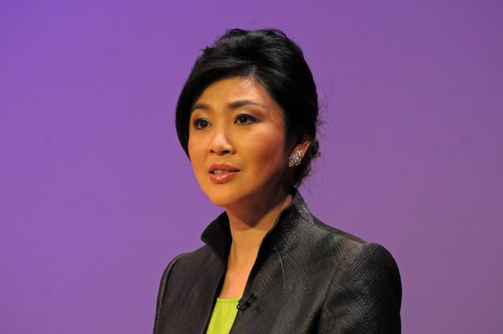Primer ministra tailandesa descarta eventual dimisión - ảnh 1