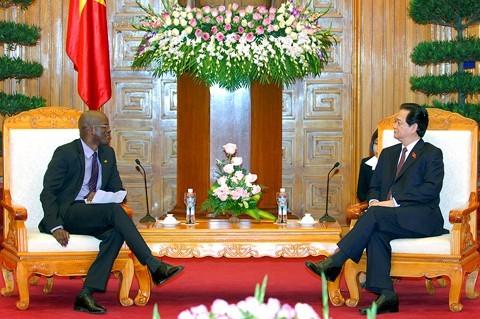 Vietnam ampliará cooperación con San Cristóbal y Nieves - ảnh 1