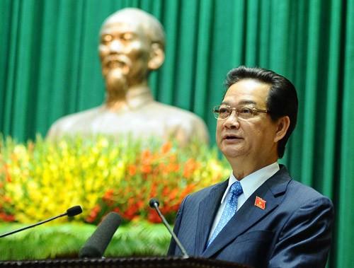 Electores aprecian francas respuestas del primer ministro en el Parlamento - ảnh 1