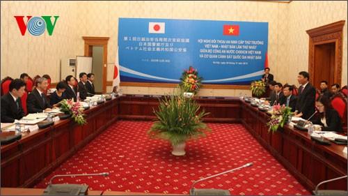 Vietnam y Japón fomentan cooperación en seguridad - ảnh 1