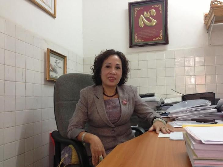 Van Diem – científica maestra de la sanidad vietnamita - ảnh 1