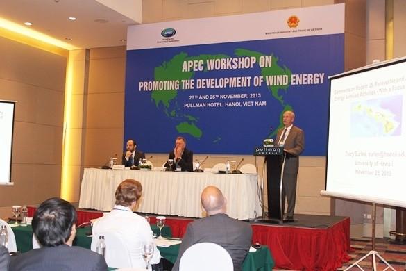Impulsan desarrollo de energía eólica en Vietnam - ảnh 1