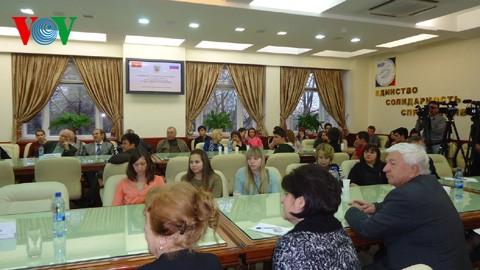 Inauguran en Rusia sala de estudio Ho Chi Minh  - ảnh 2