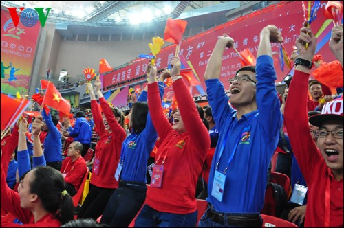 Inaugurado segundo Festival Juvenil Vietnam-China en Nanning - ảnh 2