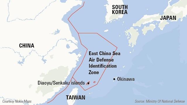 Fuertes críticas a Zona China de Identificación de Defensa Aérea - ảnh 1