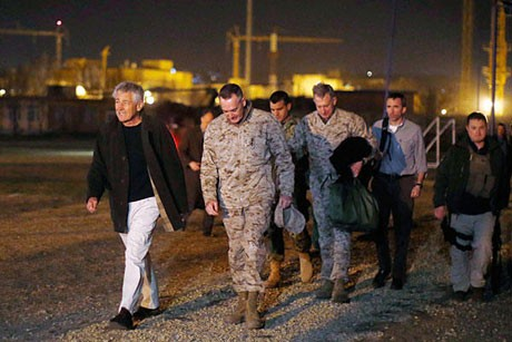 Secretario de Defensa estadounidense llega a Afganistán en visita sorpresa - ảnh 1