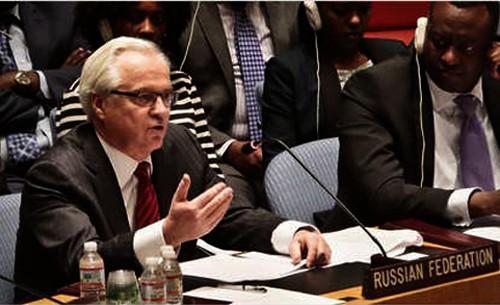 Rusia asume presidencia rotativa del Consejo de Seguridad de la ONU - ảnh 1