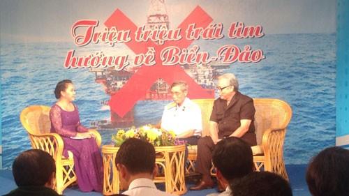 Programa en homenaje a soldados marítimos nacionales en Dong Nai - ảnh 1