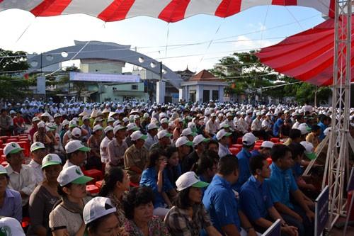 Localidades vietnamitas en saludo al Día Mundial del Medio ambiente  - ảnh 2