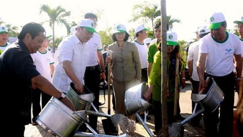 Localidades vietnamitas en saludo al Día Mundial del Medio ambiente  - ảnh 1