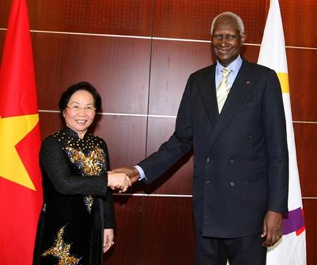 Comunidad francófona afirma apoyo y solidaridad con Vietnam - ảnh 1