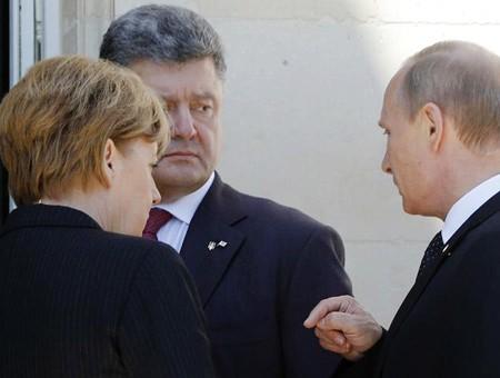 Putin se reúne por primera vez con el presidente electo ucraniano  - ảnh 1