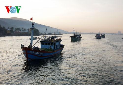 Pescadores vietnamitas mantienen trabajo con valentía en aguas violadas por China - ảnh 4