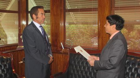 Refuerzan cooperación bilateral entre Vietnam y Botsuana - ảnh 1