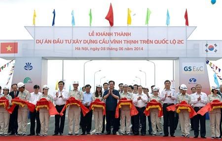 Inaugurado el puente más largo de Vietnam  - ảnh 1