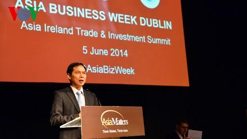 Vice canciller vietnamita concluye su visita en Irlanda - ảnh 1