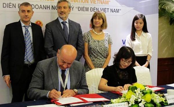 Refuerzan relaciones entre Vietnam e Italia - ảnh 2