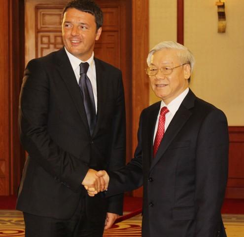 Refuerzan relaciones entre Vietnam e Italia - ảnh 1