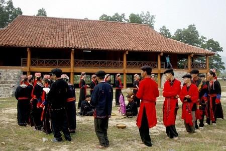 Ceremonia de pedir por la tranquilidad-rasgo cultural de los Dao Thanh Y  - ảnh 1
