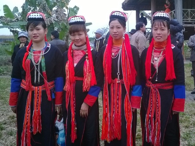 Ceremonia de pedir por la tranquilidad-rasgo cultural de los Dao Thanh Y  - ảnh 2