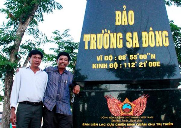 Veterano Tran Van Xuat y sus memorias de Truong Sa - ảnh 2