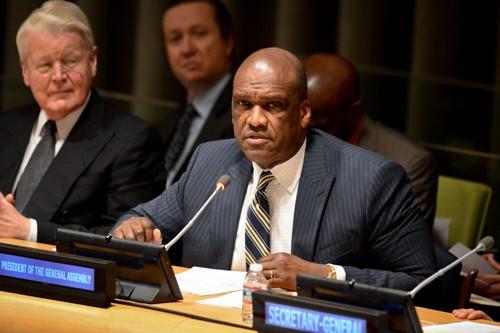 Presidente de la Asamblea General de la ONU apoya la postura vietnamita ante transgresiones chinas - ảnh 1