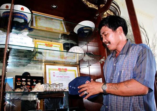 Veterano Tran Van Xuat y sus memorias de Truong Sa - ảnh 3