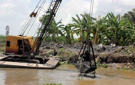 Inversión millonaria para desarrollar obras de riego en el Delta del Río Mekong - ảnh 1
