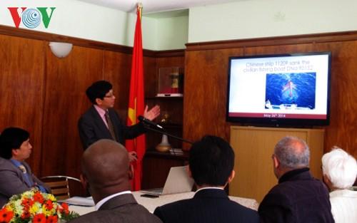 El mundo apoya la legitimidad y el criterio de Vietnam en la cuestión del Mar Oriental  - ảnh 1