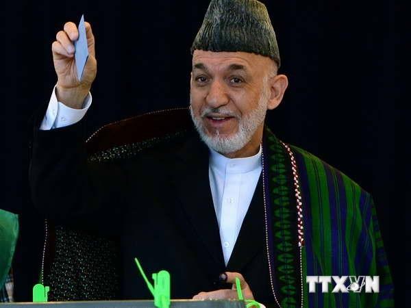 Segunda vuelta de elección presidencial en Afganistán.  - ảnh 1
