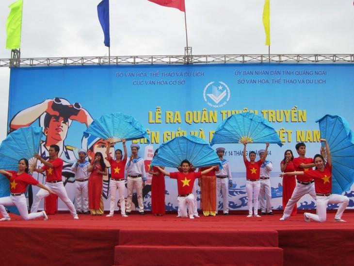 Promueven propaganda sobre la frontera, mar e islas vietnamitas - ảnh 1