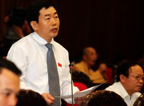 Parlamento vietnamita analiza proyecto de ley en materia de la organización legislativa (modificada) - ảnh 1