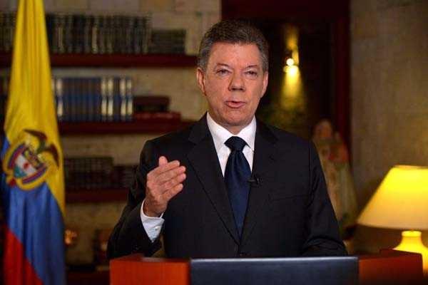 Juan Manuel Santos, reelecto presidente colombiano - ảnh 1