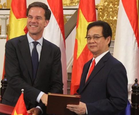 Vietnam y Holanda establecen asociación estratégica en agricultura - ảnh 1