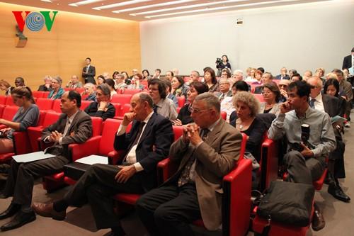 Seminario en París para rechazar acto ilícito de China en Mar Oriental  - ảnh 1