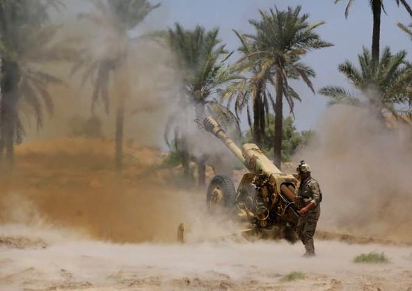 Ejército iraquí recupera el control del mayor conjunto de refinería petrolera del país - ảnh 1