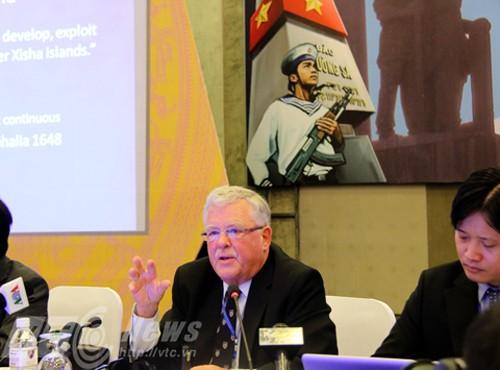"Inauguran la conferencia: ""Hoang Sa – Truong Sa: La verdad histórica"" en Quang Ngai - ảnh 1"