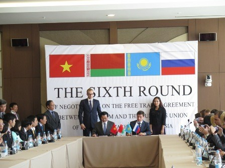 Avances en el negociado Acuerdo de Libre comercio entre Vietnam y la Alianza aduanera - ảnh 1