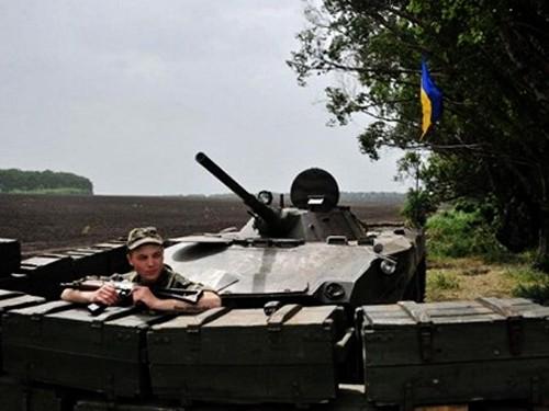 Gobierno de Ucrania recupera control de la zona fronteriza oriental  - ảnh 1